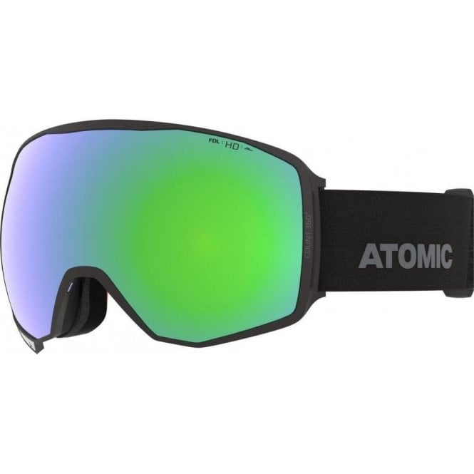 Atomic Count 360 HD Goggles - Black