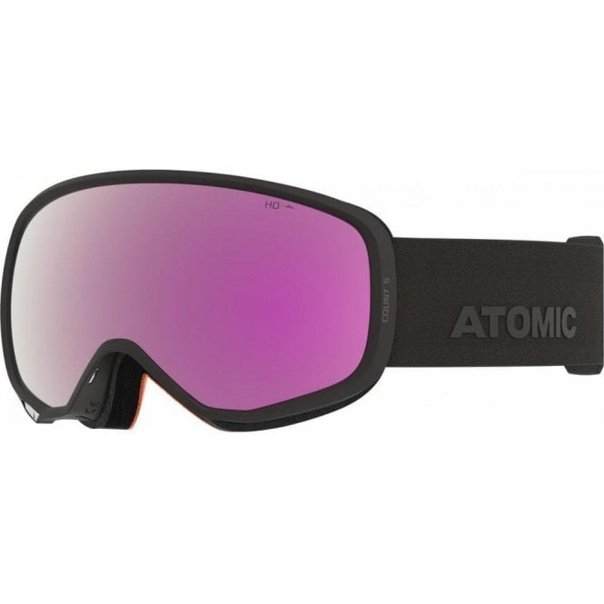 Atomic Count S HD Goggles - Black
