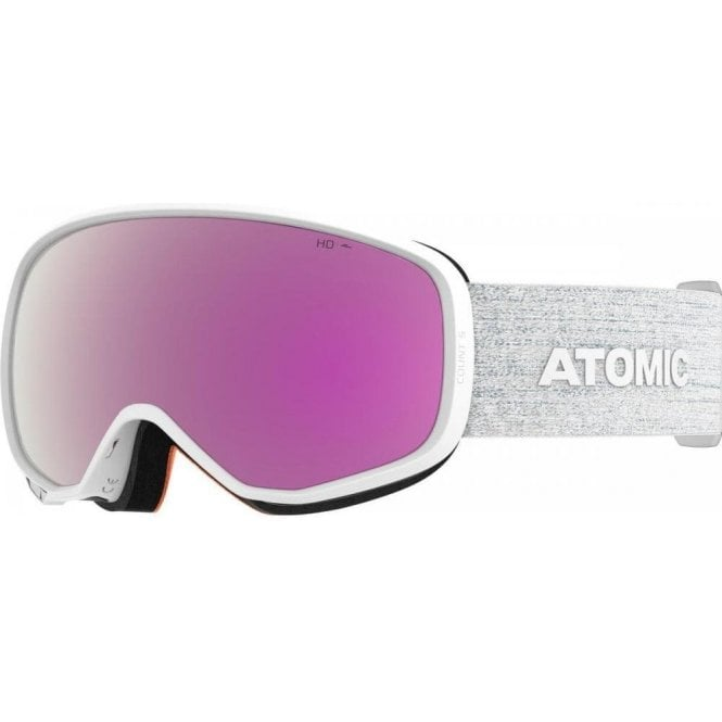 Atomic Count S HD Goggles - White