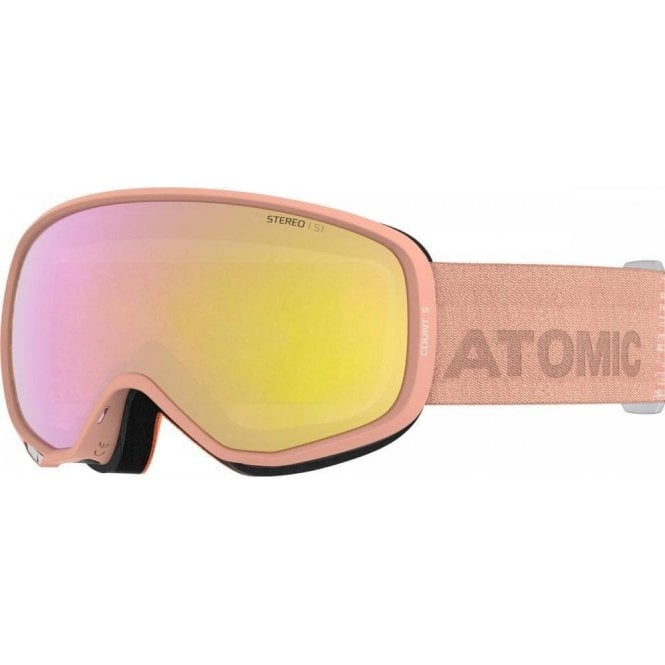 Atomic Count S Stereo Goggles - Peach