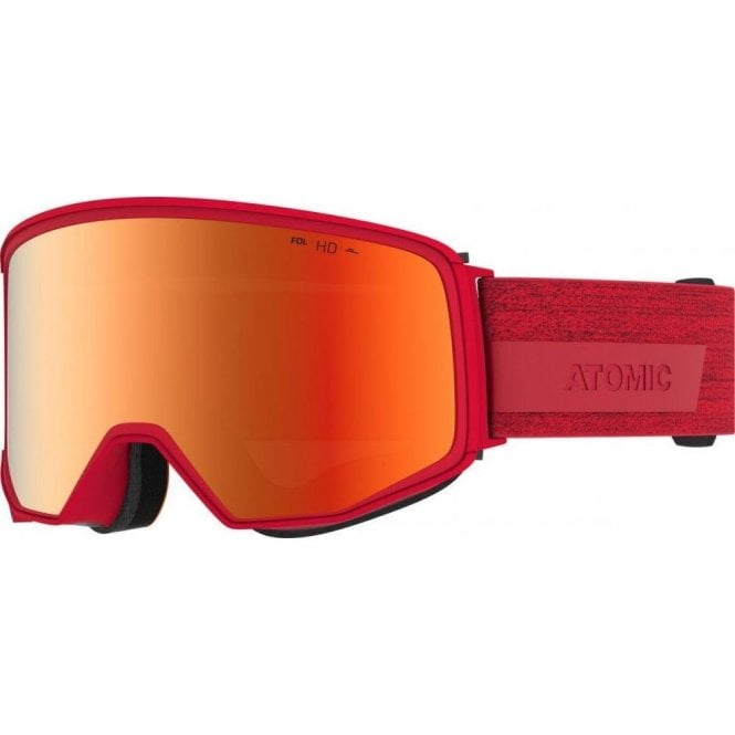 Atomic Four HD Goggles - Red