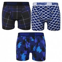 3 Pack Scottish Boxer Shorts