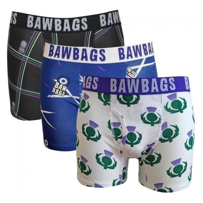 Bawbags 3 Pack Scottish