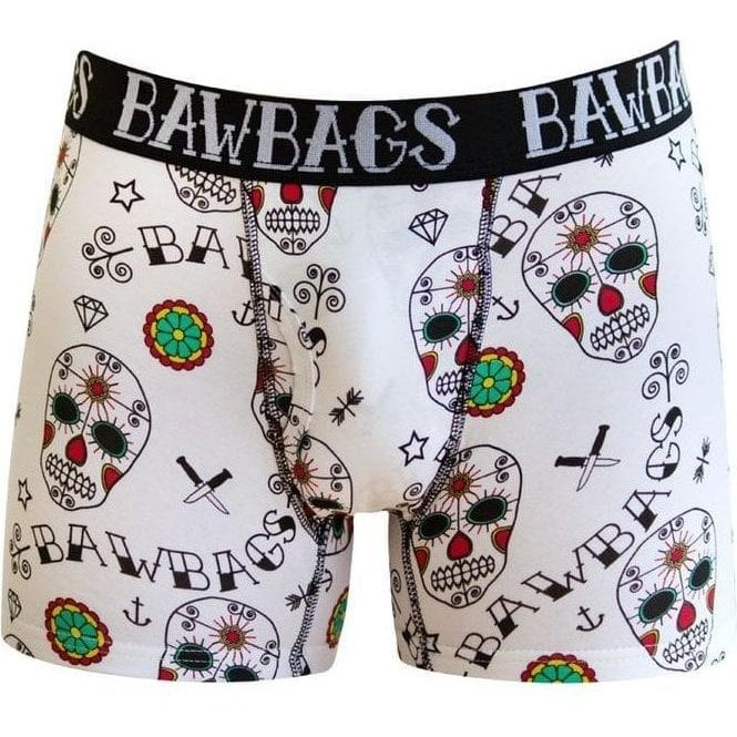 Bawbags Day of the Dead White