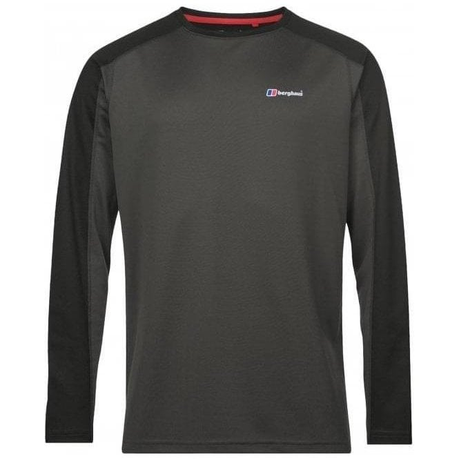 Berghaus Men's Long Sleeve Crew 2.0 T-Shirt