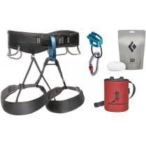 Men's Momentum Climbing Harness Package
