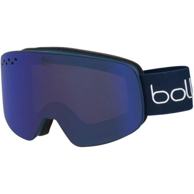 Bolle Nevada - Matte Blue & White Diagonal