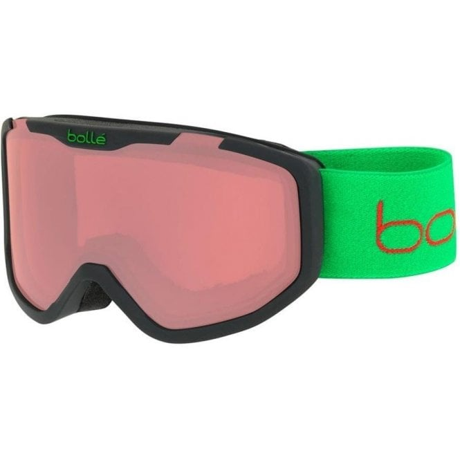 Bolle Rocket Kids Goggles - Matte Black Bear Vermillion