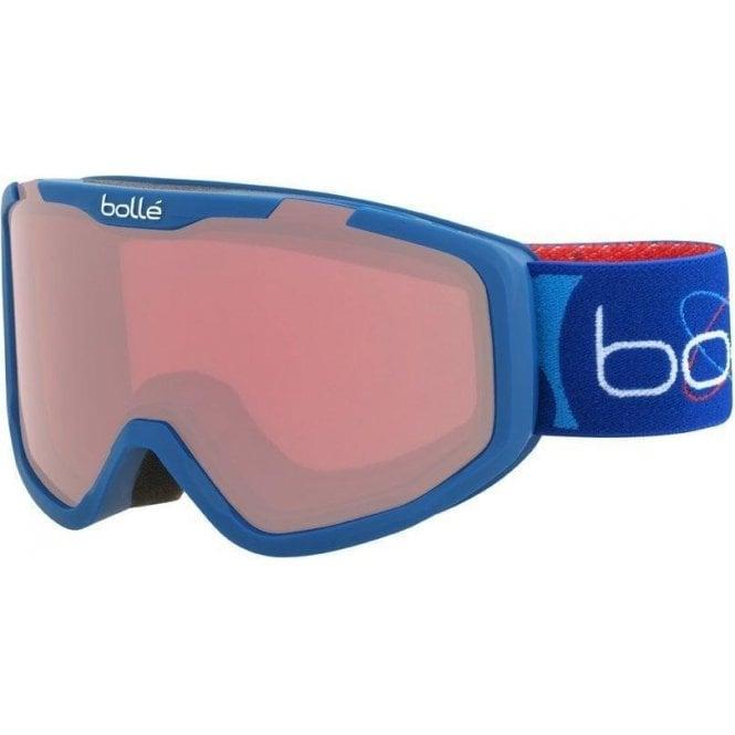 Bolle Rocket Kids Goggles - Matte Blue Aerospace/Vermillon