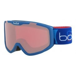 Rocket Kids Goggles - Matte Blue Aerospace/Vermillon