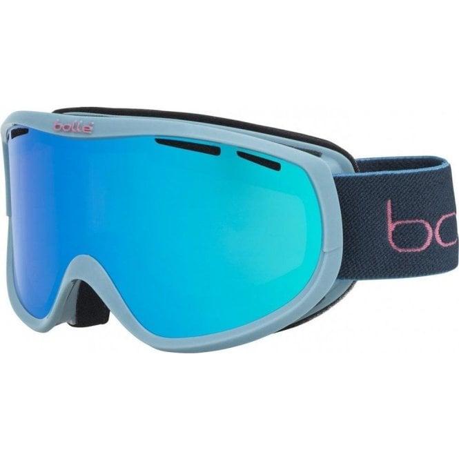 Bolle SIERRA Storm Blue Shiny Ski Goggles - Aurora Cat 2 Lens