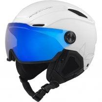 V-LINE White Matte Helmet - Size 52-55cm