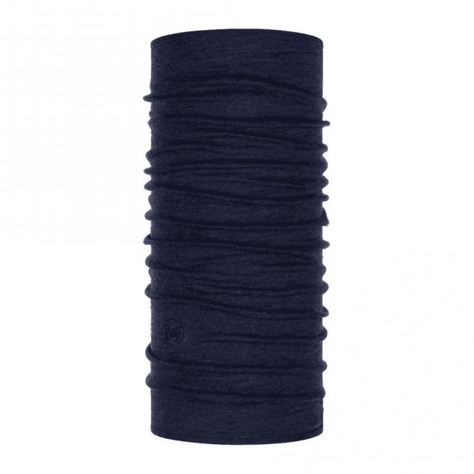 Buff Night Blue Melange Midweight Merino Wool