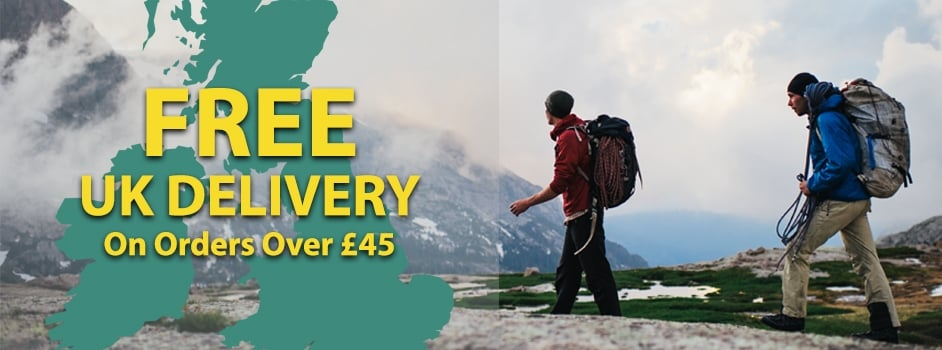 Free UK Delivery On Orders Over £45