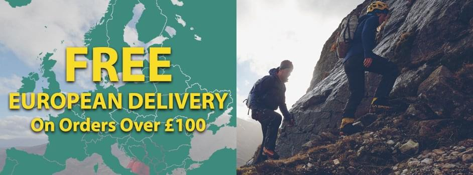 Free European Delivery On Orders Over £100