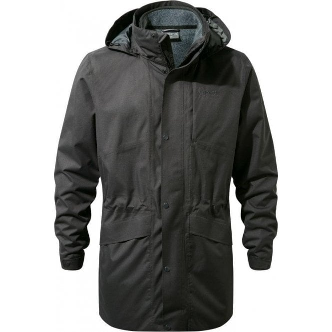 Craghoppers Men's Herston 3in1 Jacket - Black Pepper / Mid Grey Marl