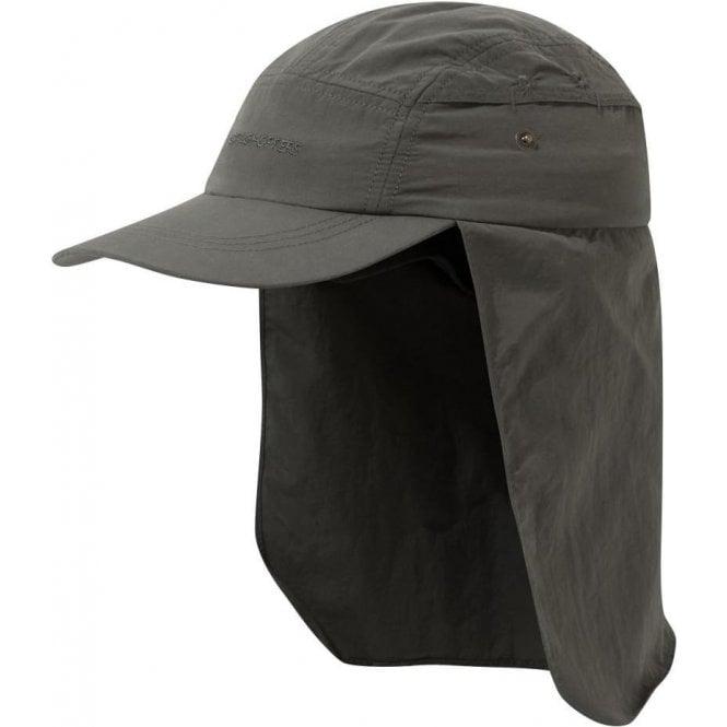 Craghoppers NosiLife Desert Hat - Dark Khaki