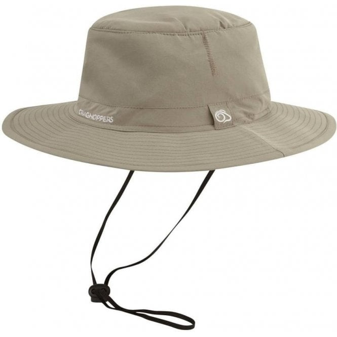 Craghoppers NosiLife Outback Hat - Pebble