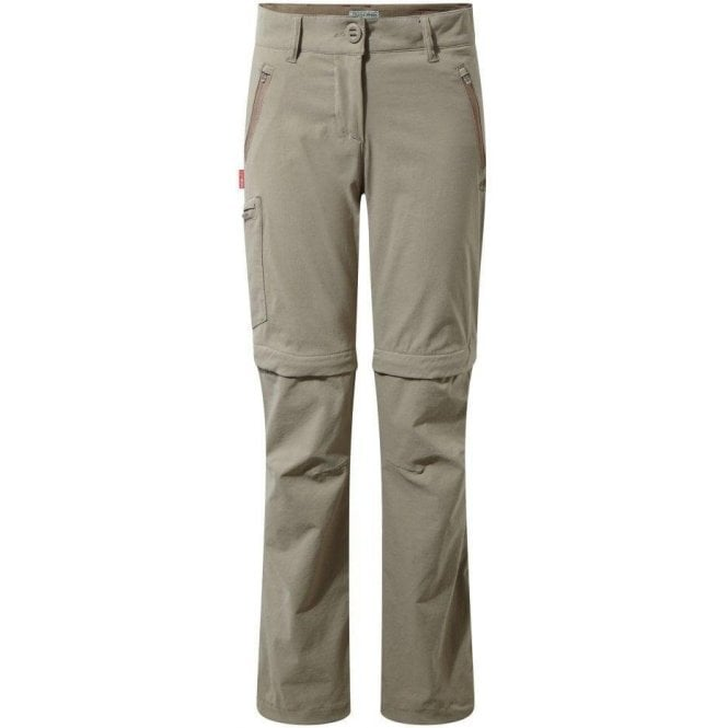 Craghoppers Women's NosiLife Pro Convertible Trousers - Regular