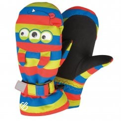 Brainstorm Animal Ski Mitts - Fiery Red Monster