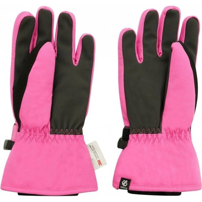 Dare 2B Girls' Liveliness Waterproof Breathable Ski Gloves