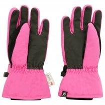 Girls' Liveliness Waterproof Breathable Ski Gloves