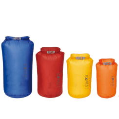 4 Pack Fold Drybag Ultralight (in 4 Sizes)