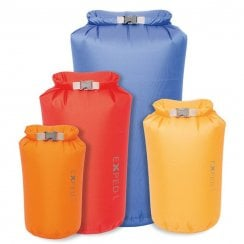 Fold Dry Bags - Bright Colours (pack of 4 different sizes)