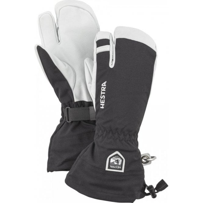 Hestra Army Leather Heli Ski 3 Finger