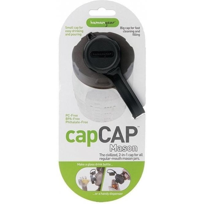 Humangear Capcap+ 63mm Black/Gray