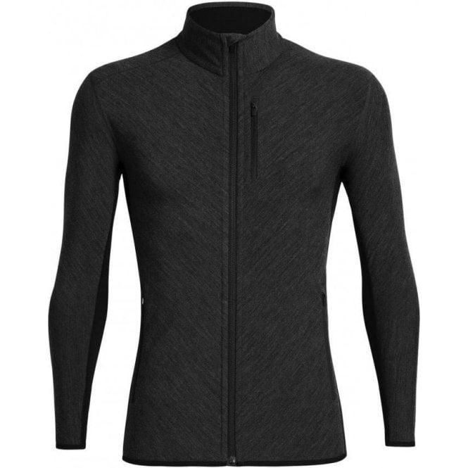 Icebreaker Men's Merino Descender Long Sleeve Zip Jacket