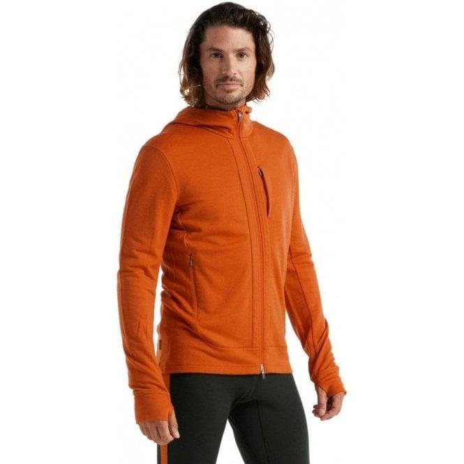 Icebreaker Men's Merino Quantum III Long Sleeve Zip Hoodie
