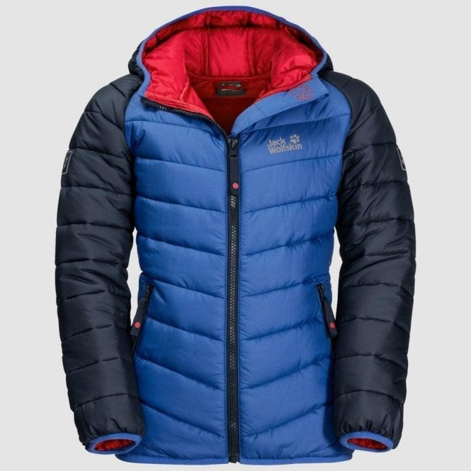 Jack Wolfskin Kids Zenon Windproof Quilted Jacket