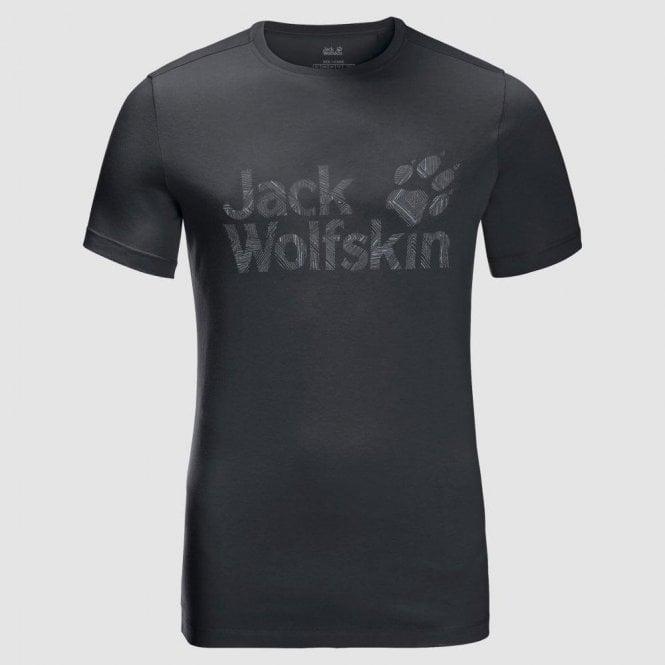 Jack Wolfskin Men's Brand Logo T-shirt