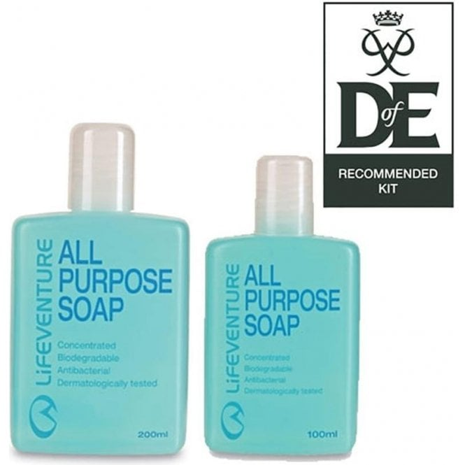 Lifeventure All Purpose Soap (200ml)
