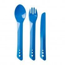 Ellipse Knife Fork & Spoon Set BLUE