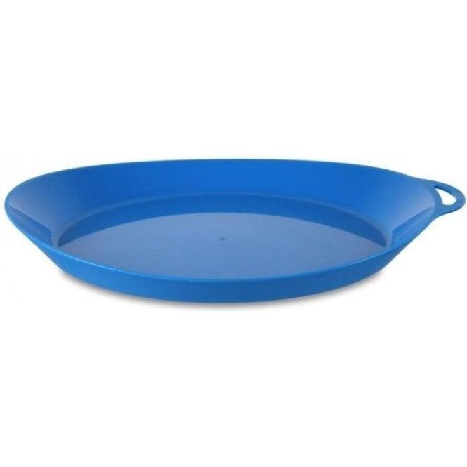 Lifeventure Ellipse Plate BLUE
