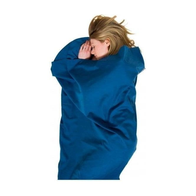 Lifeventure Poly Cotton Sleeping Bag Liner - Tapered