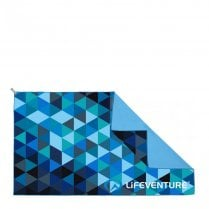 SoftFibre Triangle Print Travel Towel - Giant