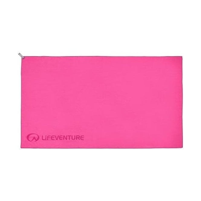 Lifeventure Trek Towel Pink - XL