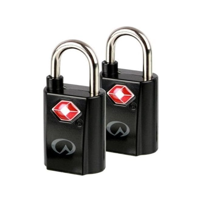 Lifeventure TSA Mini Padlocks - Pack 2