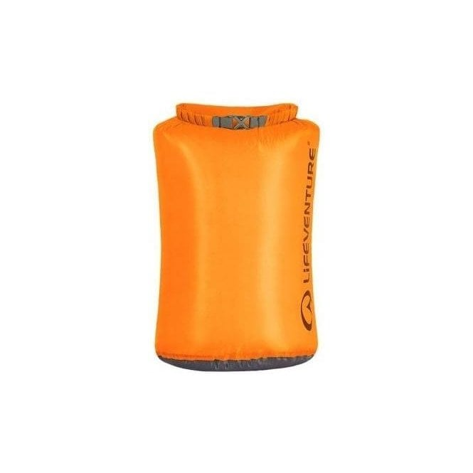 Lifeventure Ultralight Dry Bag 15 Litre ORANGE