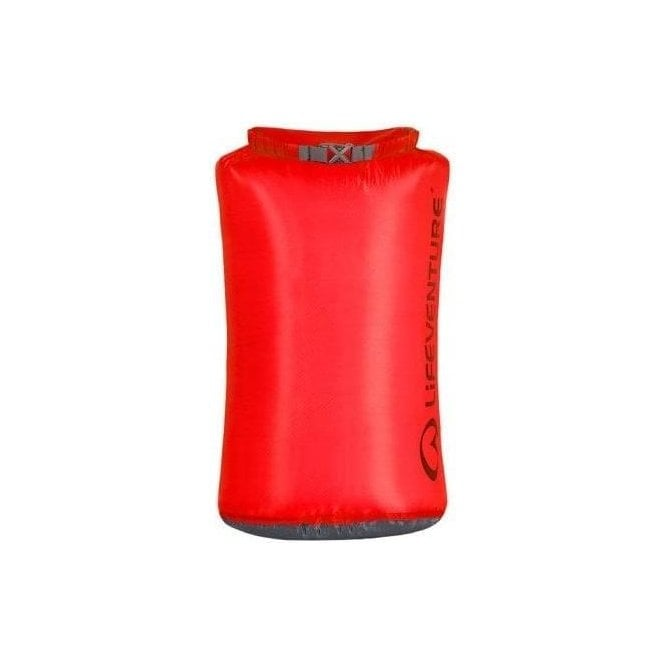 Lifeventure Ultralight Dry Bag 25 Litre RED