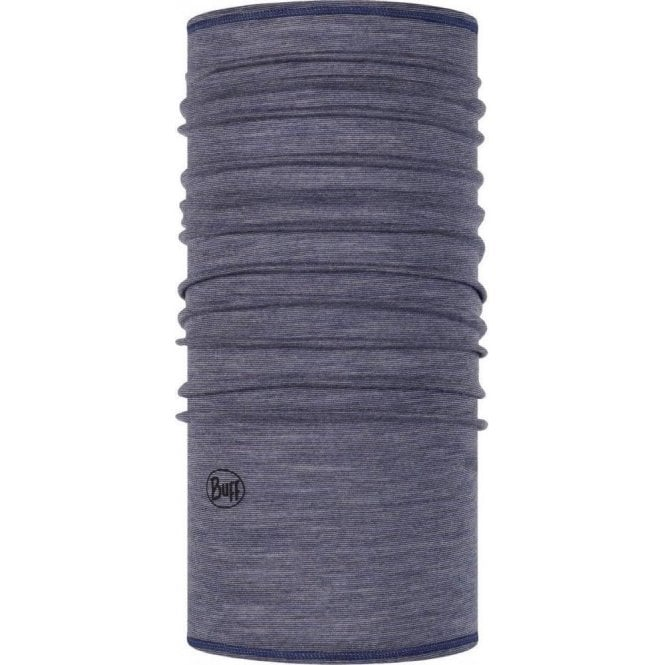 Buff Lightweight Merino Wool Buff - Denim Multi