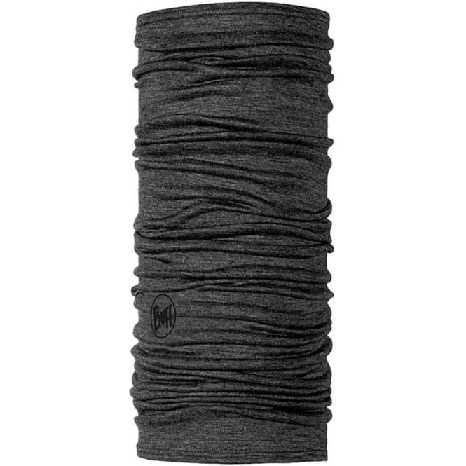 Buff Lightweight Merino Wool Buff - Solid Grey