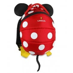 Disney Minnie Mouse Toddler Backpack with Rein