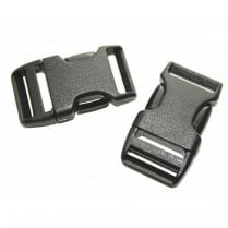 25mm Side Squeeze Buckle - Pack of 2