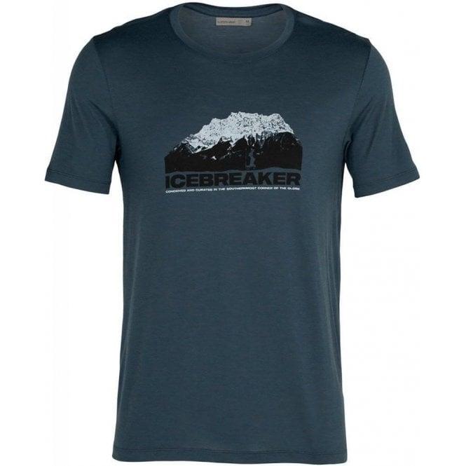 Icebreaker Men's Tech Lite SS Crewe - Icebreaker Mountain