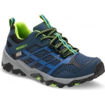 Big Kid - Moab FST Low A/C Waterproof - Navy/Blue
