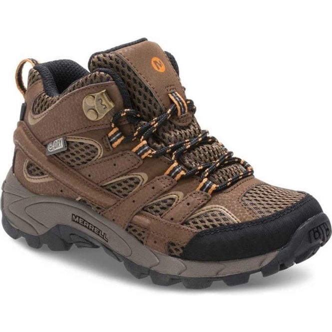 Merrell Kid's Moab 2 Mid Waterproof Boot